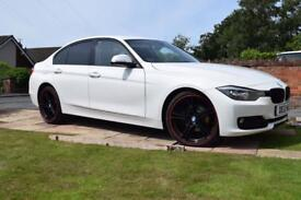 "BMW 318D Sport with M Sport 20"" wheels"