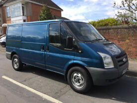 FORD TRANSIT 2.2 TDCI 57 REG - MWB / LOW ROOF - FULL SERVICE HISTORY - TWIN SIDE DOORS - NO VAT!!!!!