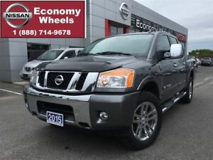 2015 Nissan Titan SL /LEATHER / SUNROOF / NAVIGATION