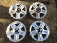 Renault Clio 172 sport 4x100 16x7 alloy wheels track drift