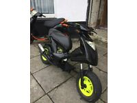 gilera ice (10 months mot)not runner aerox zip nrg typhoon