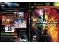 Xbox & Xbox 360 dead or alive 1-5 collection plus extra dead or alive beach volleyball 1-2