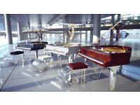 BLUTHNER - TRANSLUCID HAESSLER GRAND PIANO