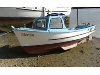 Plymouth pilot fishing boat