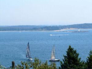 Building lot with lovely ocean views,  near Purcell's Cove