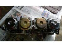 Yamaha XJ600 1997 Mikuni Carbs set. Jets cleaned & ready to use.