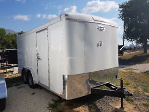 Perfect Contractors Trailer New 8X16 Cargo