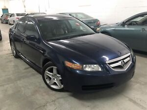 2005 Acura TL 197,000km (Automatique, Cuir, Toit, Mags) *PROPRE*