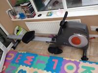 Rowing machine fitness