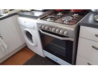 Bob Clay, selling:- INDESIT Dual fuel cooker IN perfect working order.