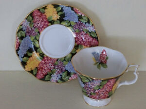 8 Royal Albert cups and Saucers