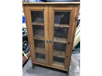 Small Bookcase with glass doors