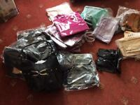 HANDBAGS PLASTIC ABOUT 50.
