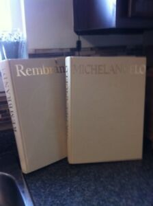 Rembrandt complete works  and Michelangelo