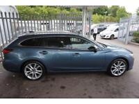 2013 Mazda 6 2.2d (175) Sport Nav 5dr Manual Diesel Estate