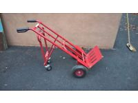 Heavy duty sack truck AS NEW (2 position)