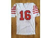 San Francisco 49ers jersey vintage