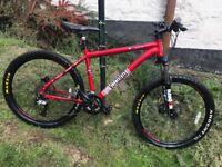 "voodoo hoodoo mountain bike (26 X 18"" G)"