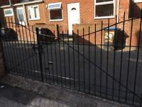Steel Gates for drive