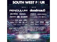 2 South West Four Sunday Tickets