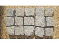 90 New Silver Gray Granite Setts Cobbles