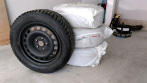 """Audi A3 / VW GTI Set of winter 16"""" rims including tires"""