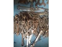 joblot of spanners for sale