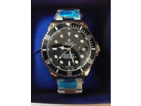 Rolex Submariner Silver, Automatic Watch, Metal Strap *1st Class Postage Available*