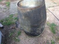 Garden ornament, tree planter, barrel