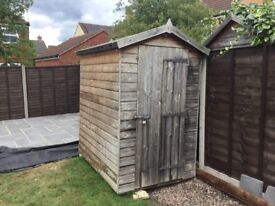 "6"" x 4"" Garden Shed for sale"
