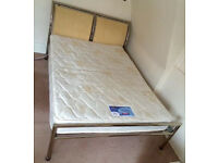 Double Bed (Mattress + Frame)