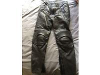 Ladies Leather Motorcycle Trousers