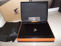 "Aorus X7 v2-CF1 17.3"" FHD w/ DUAL nVIDIA GeForce GTX 860M gaming laptop perfect condition"