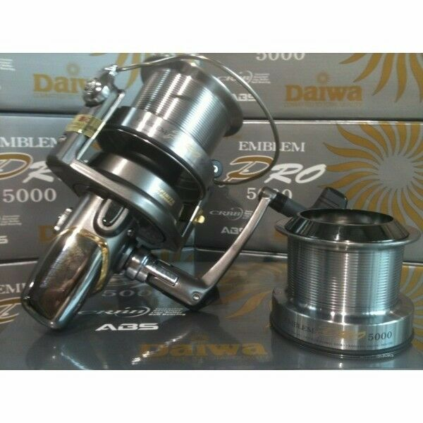 X3 Daiwa emblem pro 5000 big pit reels in ammaculate condition.