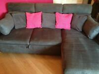 Grey Sofa - Double Bed