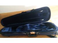 Violin Case with spare parts