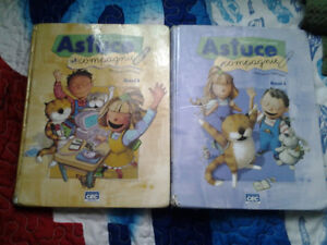 4 LIVRES MANUEL 1 CYCLE PRIMAIRE ALLEGRO(A-B)ASTUCE (A-B)