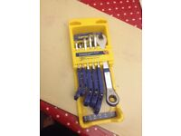 Good year combination ratchet wrench and spanner set