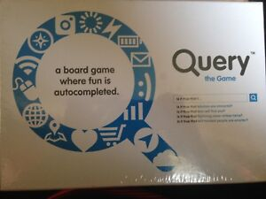 Query the game kickstarter board game adult