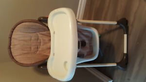 Highchair & 2 booster chairs