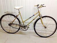 Classic Ladies city bike hub gears excellent condition