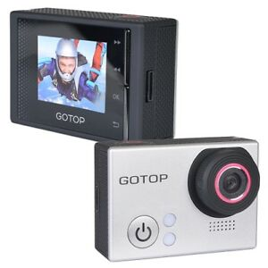 Gotop Silver Edition Full HD 1080p Sports Action Waterproof Cam