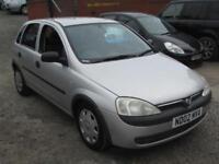 Vauxhall/Opel Corsa 1.2i 16v 2002.5MY Club