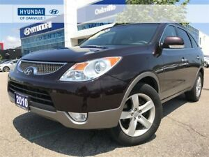 2010 Hyundai Veracruz LIMITED AWD | 7 PASS | LEATHER | NO ACCIDE