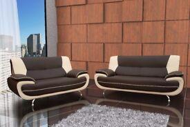 *** SALE PRICE SOFAS ** Brand New Palmerro 3+2 Sofa Set OR Corner Sofa **
