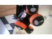 child /teenage Slazenger golf set and bag