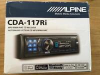 Alpine car radio CDA-117Ri