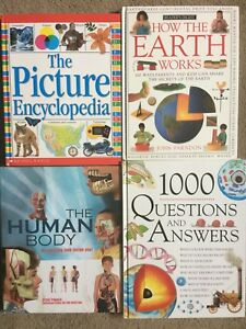 FOUR GREAT CONDITION EDUCATIONAL BOOKS