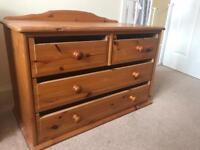 John Lewis Pine chests of drawsSOLD