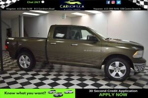 2012 RAM 1500 SLT QUAD 4X4 - LOW KMS**A/C**REMOTE START